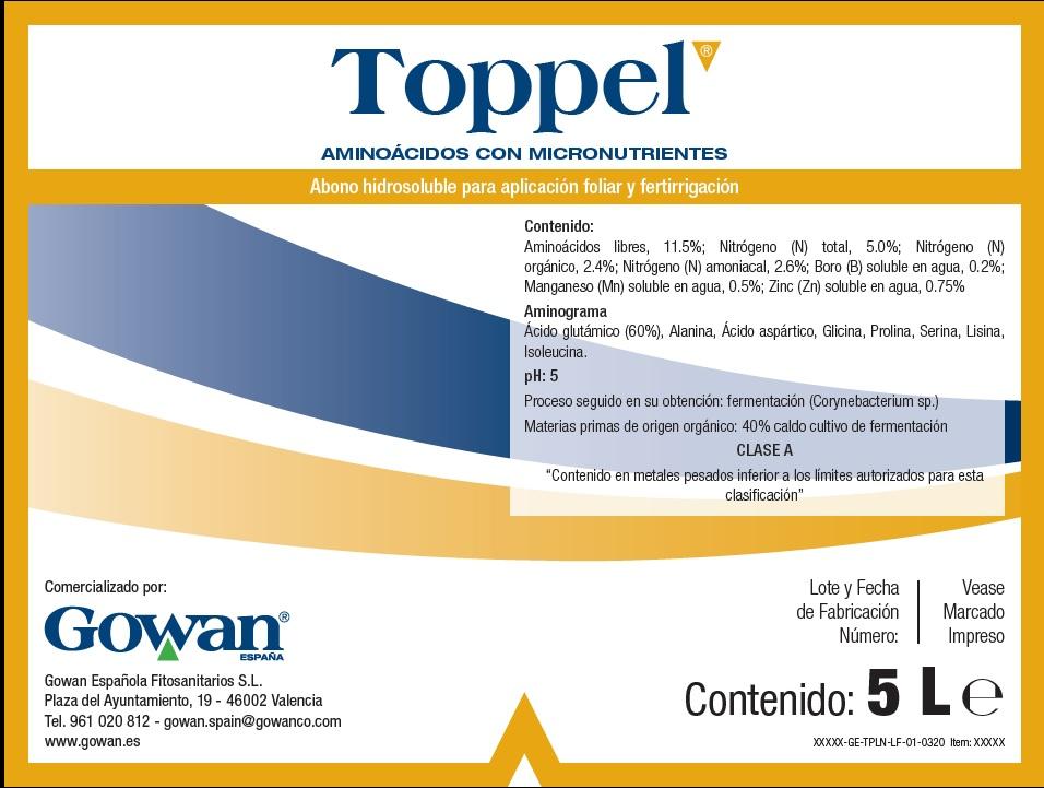Portada Toppel